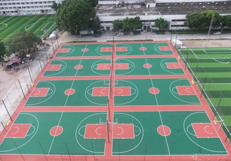 硅PU篮球场材料厂家